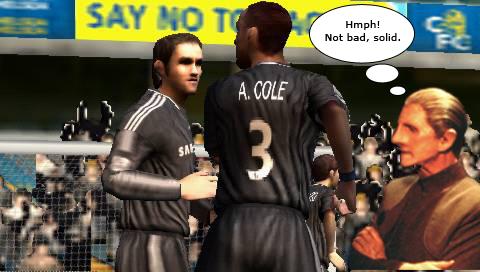 Odo admires FIFA 09's workmanship.